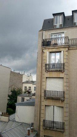 Pavillon Courcelles Parc Monceau : Panorama dalla camera 41