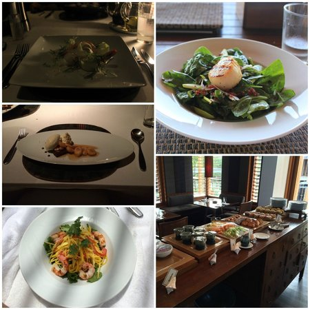 Amanyara: Every meal was delicious