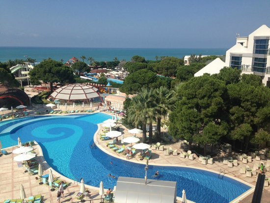 Cornelia De Luxe Resort: The view from our room
