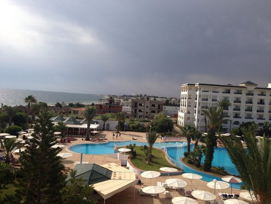 El Mouradi Palm Marina: View from room 545