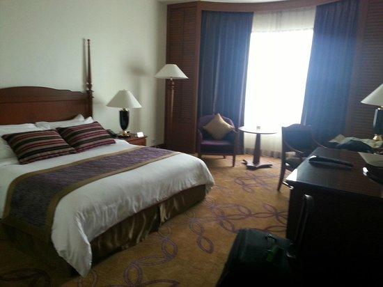 Century Park Hotel: La nostra camera standard al 17° piano