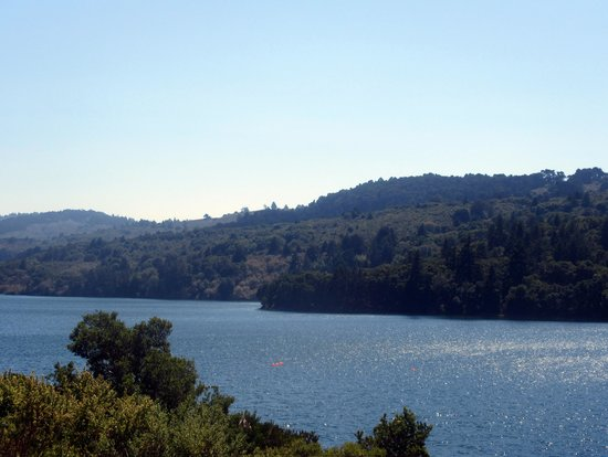 Crystal Spring Reservoir, Sawyer Camp Trail, San Mateo, Ca