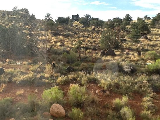 Days Inn Torrey Capital Reef: View outside our room