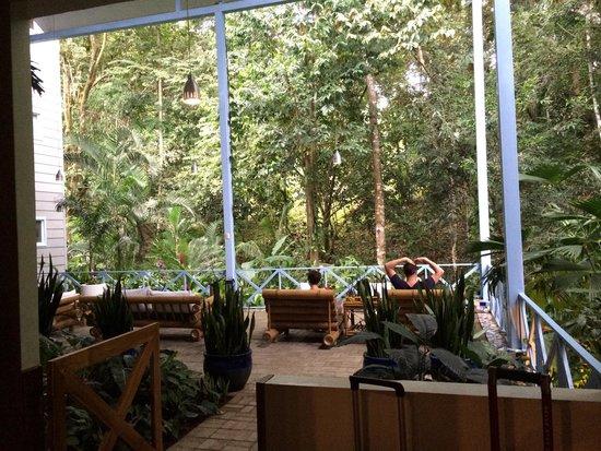 Hotel Plaza Yara: The terrace