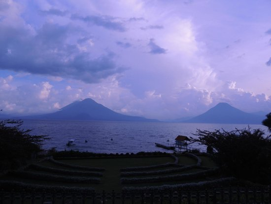Hotel Atitlan: lago atitlán