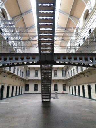 Kilmainham Gaol: Reverse side of Victorian addition