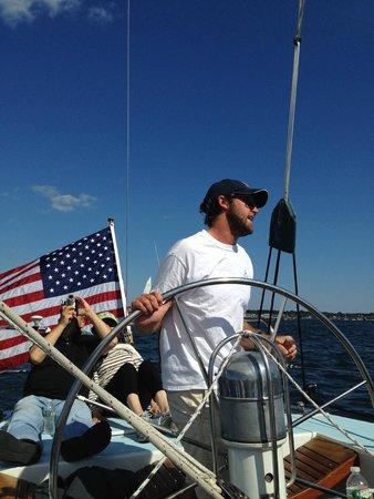 12 Meter Charters: Captain Gus