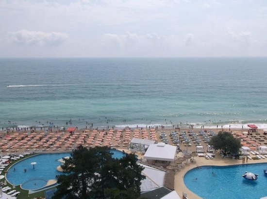 Lilia Hotel: View from a sea view room