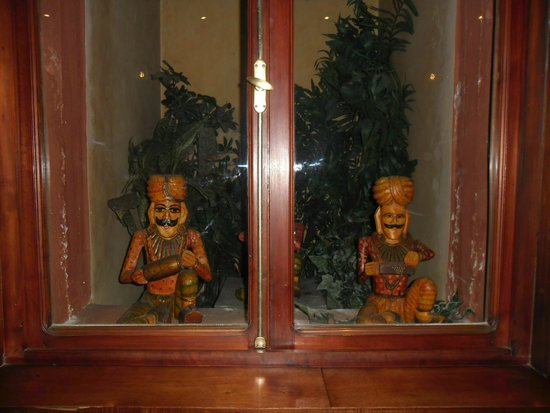 Hotel Majestic: Estátuas