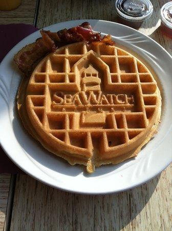 Sea Watch Resort: Delicious Waffles