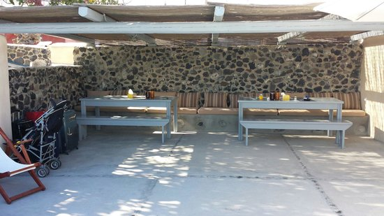 Ambelia Traditional Villas: Sala x la colazione