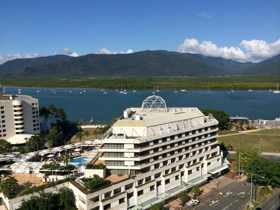 Pullman Cairns International: view from suite