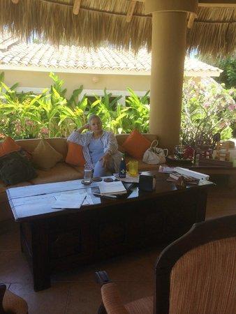 Casa Pan de Miel : Sala de estar en el Lobby