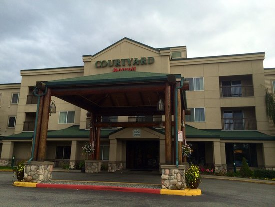 Courtyard Anchorage Airport : Courtyard by Marriott Ancorhage