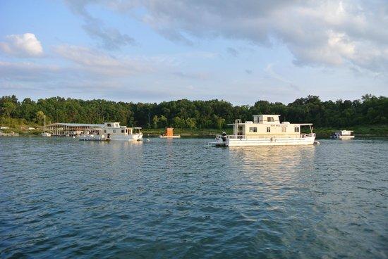 Bull Shoals Lake : houseboats