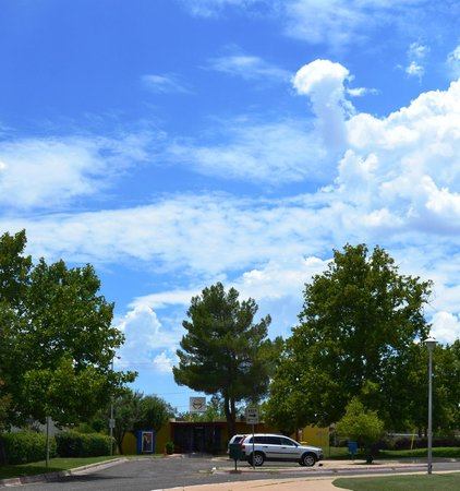 Nogales-SCC Chamber of Commerce Visitor & Tourism Center: Beautiful Arizona skies showcased on a summer's day!