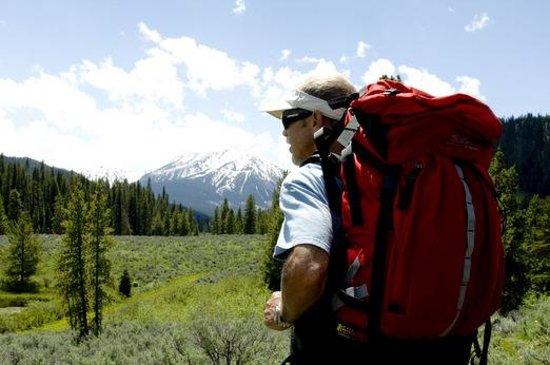 Backpacking in Big Sky