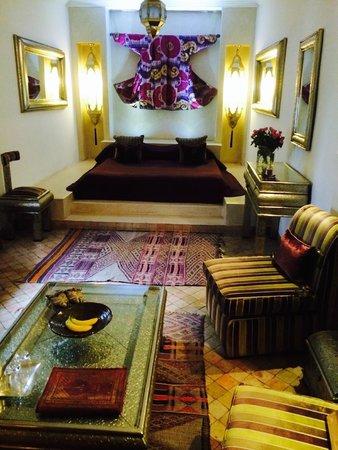 Riad Assakina : our suite