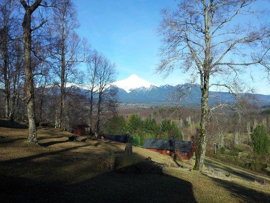 Mirador los Volcanes Lodge & Boutique : Vista desde la cabaña