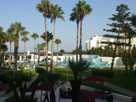 Orient Palace Hotel : widok z pokoju 146