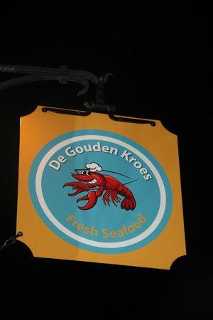 """Nice & Best Restaurant """"De Gouden Kroes"""" Hoogstraat 12, 8000, Brugge, Belgium"""
