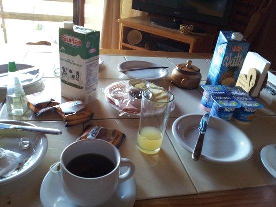 Mirador los Volcanes Lodge & Boutique : Desayuno