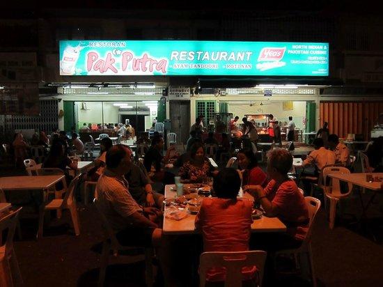 Pak Putra Tandoori & Naan Restaurant : The restaurant