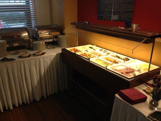 Hotel Vista: breakfast cold options
