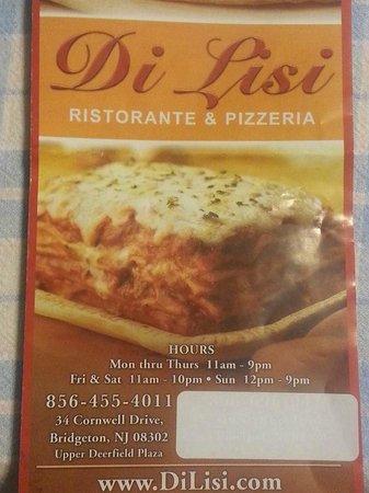 Di Lisi Ristorante Pizza