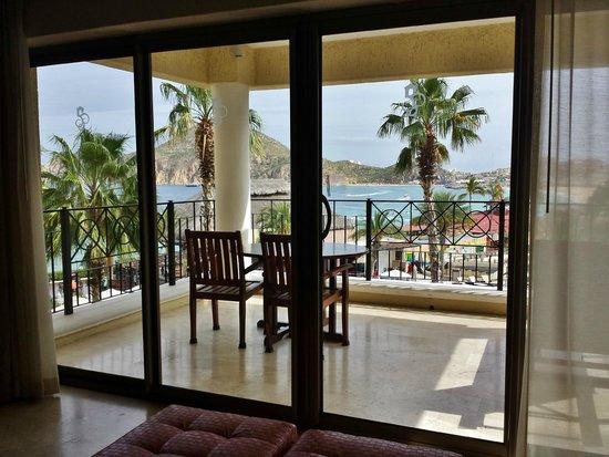 Casa Dorada Los Cabos Resort & Spa: View from 1 of the 2 balconies