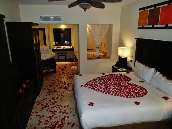 Casa Dorada Los Cabos Resort & Spa: Bedroom long view from entry door