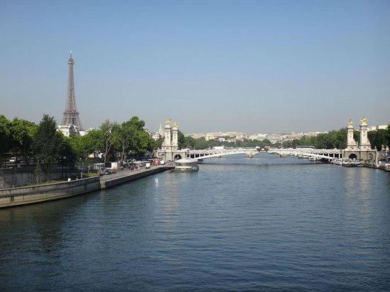 Pont Alexandre-III : コンコルド橋から