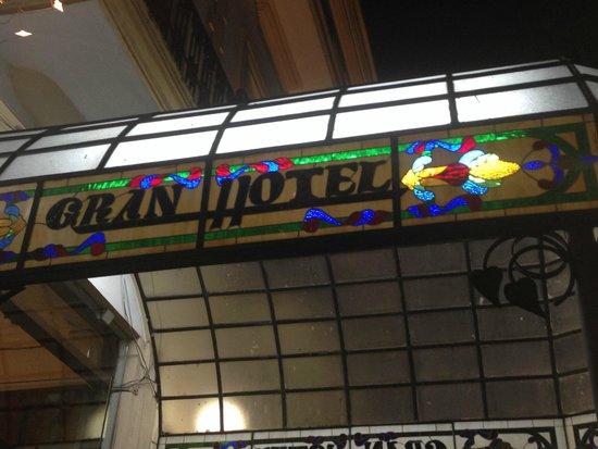 Gran Hotel de Merida: Hotel Main Entrance Canopy