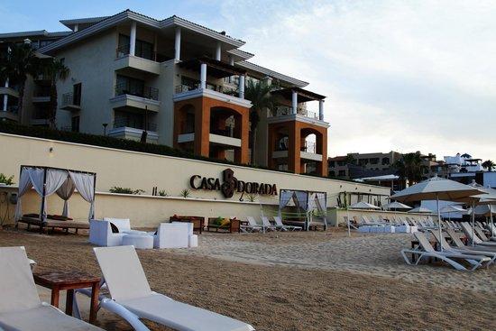 Casa Dorada Los Cabos Resort & Spa: Private Beach Area