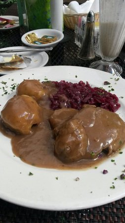 Edelweiss Restaurant: One of the german dishes