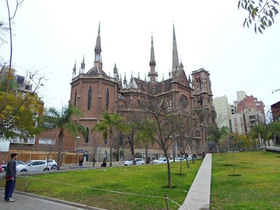 Iglesia de Los Capuchinos: Vista desde el Paseo del Buen Pastor