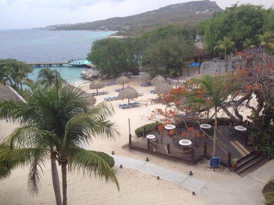 Hilton Curacao: Vista dos quartos do hotel
