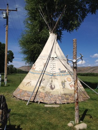 Mesa Campground : Our Tipi