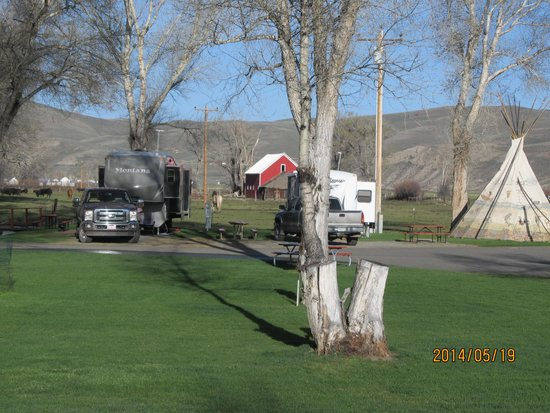 Mesa Campground : Beautiful View of Campground
