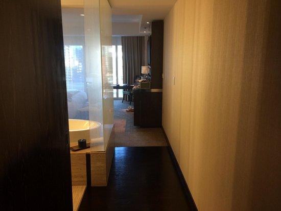 Mandarin Oriental, Las Vegas: Corridoio in camera