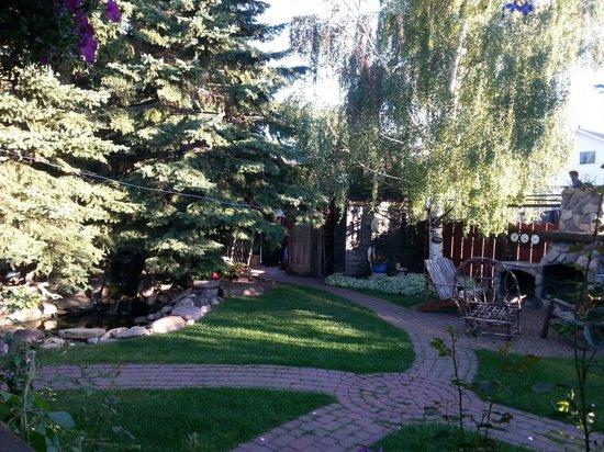 Tending Gardens Bed and Breakfast : The garden