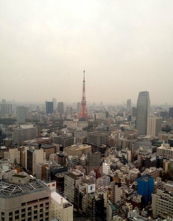 Park Hotel Tokyo: Day time view from room