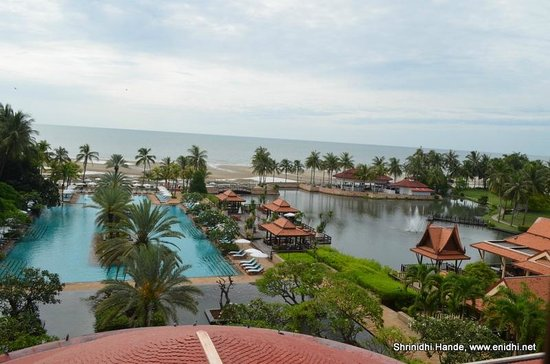 Dusit Thani Hua Hin : view from club suite