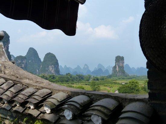 Hidden Dragon Villa: View from restaurant
