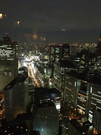 The Peak Bar: Night time view