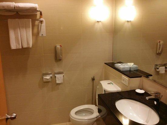Holiday Inn Melaka : Toilet