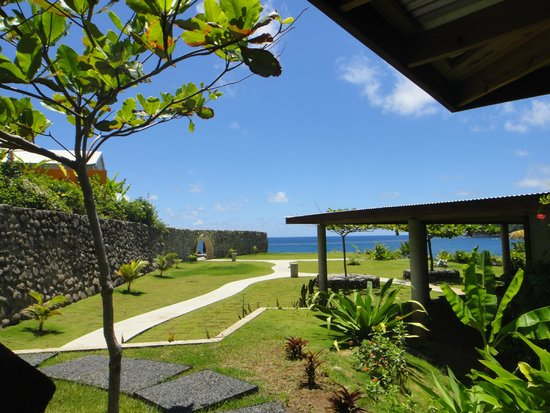 Pagua Bay House Oceanfront Cabanas : Stunning view from cabana 4!