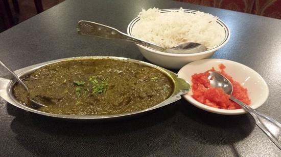 Taste of Punjab: Lamb Saag
