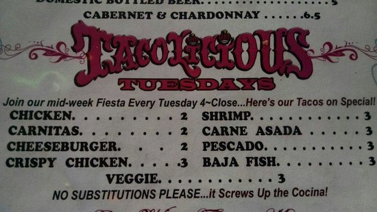 Fred's Mexican Cafe: Oh yeah baby...