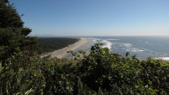 Cape Disappointment State Park: View from the lighthouse
